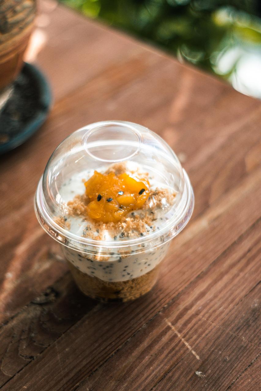 Šalavijų (Chia) sėklų desertas
