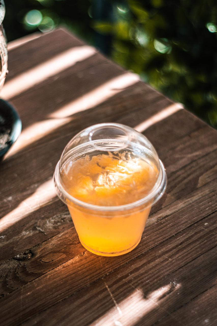 Apelsinų-mandarinų natūrali želė